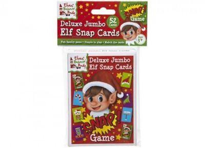 Naughty Elf Snap Cards Elves Behavin' Badly On The Shelf Jumbo Size Snap Game