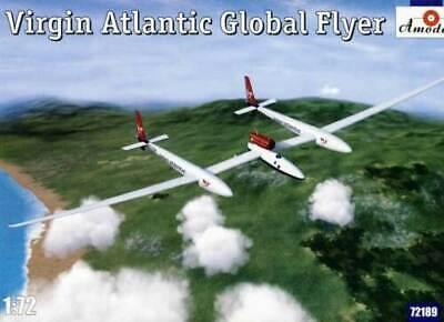 Amodel 72189 - 1/72 - Virgin Atlantic Global Flyer, scale plastic model kit -