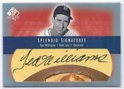 Ted Williams Autograph Upper Deck