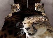 Leopard Print Quilt Cover Queen
