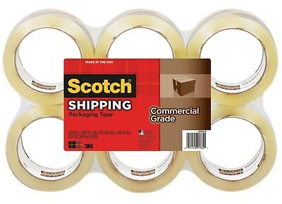 Scotch 375 Commercial-grade Packaging Tape - 3 Core - Rubber Resin - Dirt