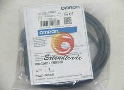 1pcs Omron E2e-x2me1 12-24vdc Proximity Switch New