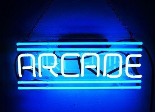 "New Arcade Decor Beer Pub Acrylic Neon Light Sign 14"""