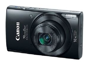 -/-new Canon PowerShot 20mp 10x Optical Zoom wifi appareil photo