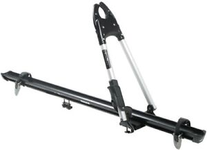 Two Thule Big Mouth Roof Bike Carriers