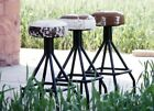 Black Metal Benches & Stools