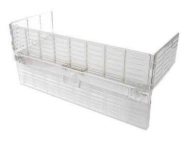 Herdschutzgitter DeLuxe mit Herd-Schalterabdeckung  in transparent