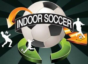 INDOOR SOCCER EVERY MONDAY NIGHT