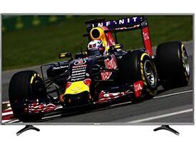 "Hisense LTDN55K321UWTSEU 55"" 4K Ultra HD Smart TV Wifi Grey LED TV"