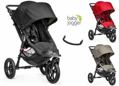 Baby Jogger CITY ELITE stroller colours pushchair bellybar and shipping - Baby Jogger Elite Single