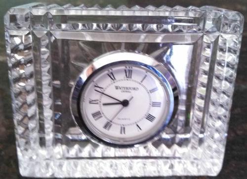 Waterford Crystal Quartz Clock Ebay