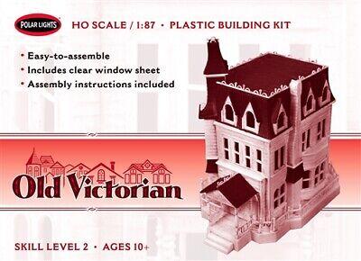Polar Lights Old Victorian house HO 1:87 scale model kit new 969