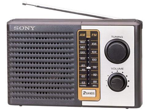 Sony 2 Band Receiver Portable AM/FM Transistor Radio
