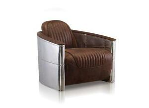 Incroyable Art Deco Leather Chairs