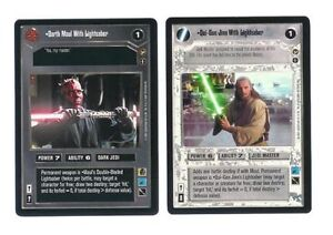 Star-Wars-Theed-Palace-120-card-Complete-Set-with-checklists-no-AI