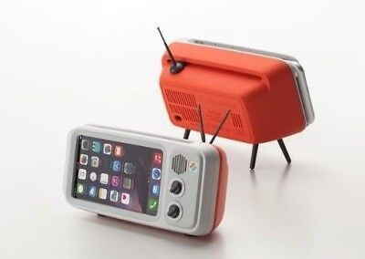 Retroduck  the Retro-Style iPhone Dock / iphone 6 / 6s / 7 / 8 ( Pop Red )