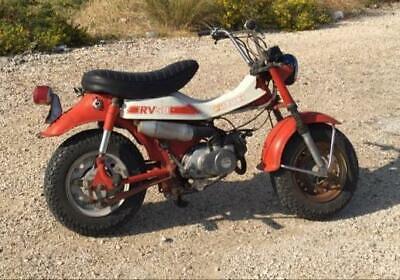 Suzuki rv50 1978 van van scooter moped