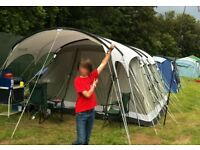 Outwell Montana 6 Tent with Porch and Internal Carpet