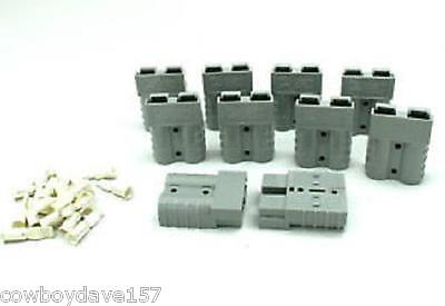 Anderson Sb50 Connector Kit Gray 1012 6319g1 10 Pack Authentic