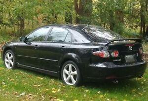 2008 Mazda 6 Black on Black