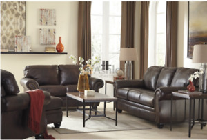 Ottawa New Leather Sofa Love Seat And Chair For The Price Of 1