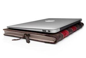 Etui BookBook pour portable, Apple Mac ou Windows, Linux, Etc...