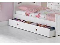 Under bed storage draw