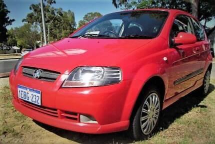 2006 Holden Barina LOW KMS * LOG BOOKS * 5 SPEED Hatchback