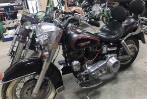 1975 Shovelhead Harley Davidson