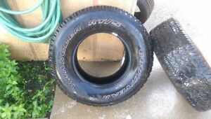 2 Goodyear Wranglers RT/S tires 265/70R16 Kitchener / Waterloo Kitchener Area image 1