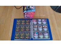 Dragon Ball Z Trading Card Game Collection (almost complete collection) and DBZ Art Trading Cards