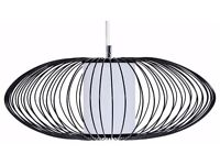 Cage Pendant black Lamp Shade from Made