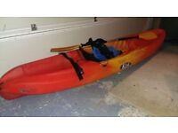 Children's Ocean Kea Sit-On-Top Kayak including Paddle & Buoyancy Aid