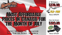 ***BEST PRICING IN CANADA ON EXHAUST & INTAKE!***