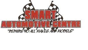 TIRE CHANGE - SHOP RATE $70/HR - SMART AUTOMOTIVE CENTRE INC