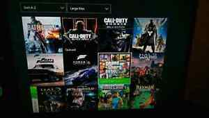 X-Box one with 37 games. Halo 5 + Ghosts + Destiny + Many more