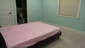 one large and clean bedroom for rent (with private bath)