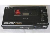 Sony WM-D6C Walkman Professional Tape Recorder