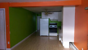 Some funky colors in this 2bdrm - will paint white if you prefer