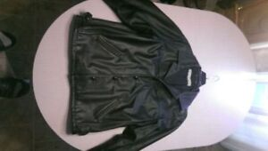 Leather winter jacket XL for sale