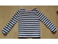 Mini boden breton top age 4-5 years