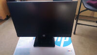 """20"""" HP pavilion 20bw IPS LED monitor Only few moths old Watch