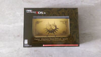 *USED* ZELDA Majora's Mask 'NEW' 3DS XL - 2 games & Charger