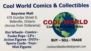 COOL WORLD COMICS & COLLECTIBLES