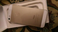 iPhone 5s GOLD 16gb new openbox no charger w/warranty till 03/16