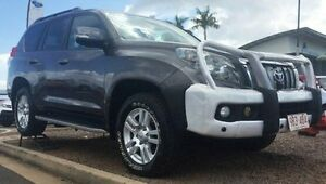 2010 Toyota Landcruiser Prado KDJ150R Kakadu Grey 5 Speed Sports Automatic Wagon Berrimah Darwin City Preview