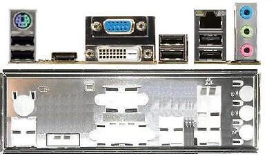ATX Blende I/O shield Asus P8H61-I R2.0 REV 2 #432 io NEU OVP backplate bracket