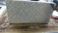 "Twin size 39"" X 75"" mattress (only)"