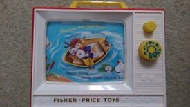 Fisher Price wind up television