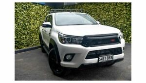 2017 Toyota Hilux GUN126R SR5 Double Cab White 6 Speed Sports Automatic Utility St Marys Mitcham Area Preview